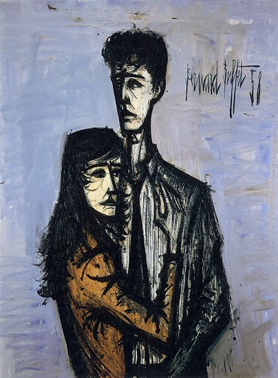 Bernard buffet jeanne darc the image for Bernard peintre